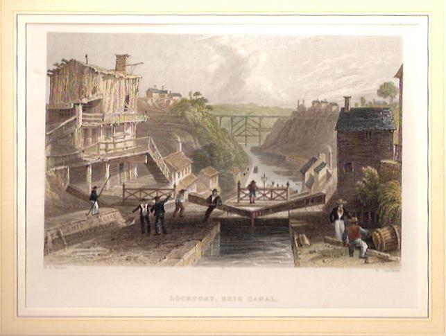 LOCKPORT, canal Erié