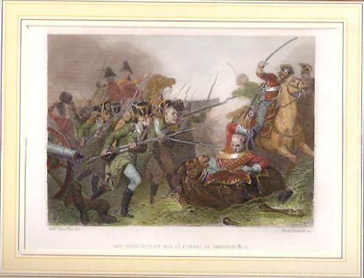 LES CONSCRITS DE 1813 AU COMBAT DE WEISSENFELS