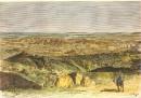 ALGÉRIE : MOURZOUK, Afrique du Nord, gravure, stich