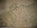 RUSSIE, Asie, carte du 18ème siècle