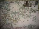 DANEMARCK, carte du 18ème siècle