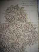 BOHEME ET MARQUISAT DE LUSCACE, Europe, carte du 18ème siècle