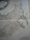 EMPIRE DE RUSSIE, partie orientale, cartes du 18e siècle, karte,
