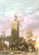 MAROC : TETOUAN, Afrique du Nord, médina, gravures anciennes, es