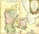 DANEMARK, Scandinavie, cartes du 18° siècle, gravures anciennes,