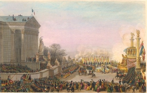 The Funeral Of Napoleon Paris Premier Empire Gravure