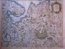 CARTE DE MOSCOVIE Dressée par Guillaume de l'Isle, carte du 18e