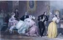CONVALESCENCE, France, Paris, romantisme, plates, stich, gravure