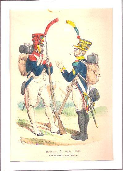 INFANTERIE DE LIGNE, 1808