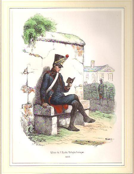 ELÈVE DE L'ÉCOLE POLYTECHNIQUE - 1812 -