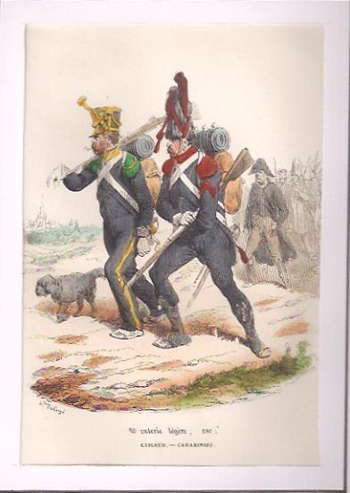 INFANTERIE LÉGÈRE, 1809
