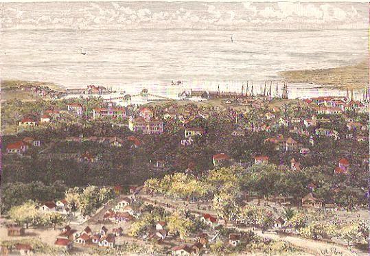 HONOLULU, vue générale