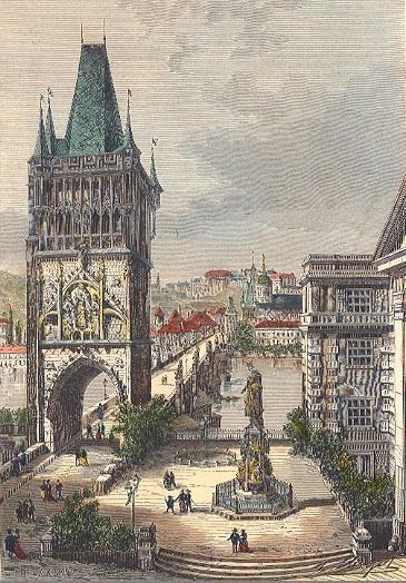 PRAGUE: LA KARLSBRÜCKE