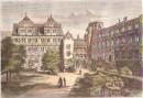 CHATEAU DE HEIDELBERG, engraving, deutschland, stich,
