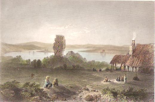 ROUMANIA : SOZORNEY WITH TRAJAN'S BRIDGE