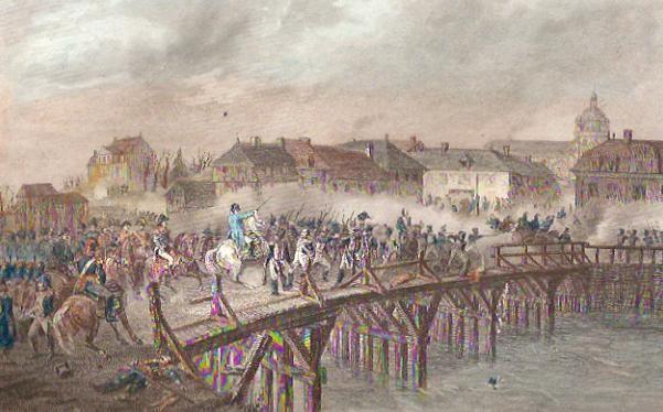 NAPOLÉON AU PONT D'ARCIS SUR AUBE (20 mars 1814)