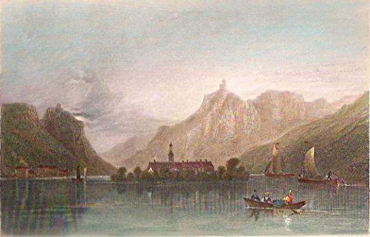 ISLAND OF NONNENWER, engraving, print, plates
