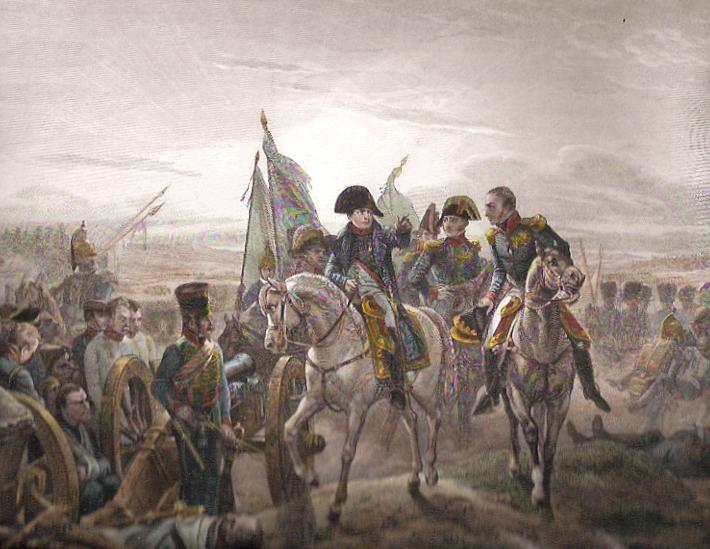 BATTLE OF FRIENDLAND, 1er Empire, Napoléon Bonaparte, print, pla