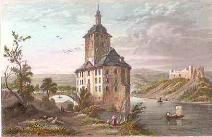 WARSSERSTELZ, engraving, stich, deutschland