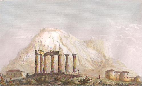 ACRO-CORINTHE, TEMPLE DE NEPTUNE