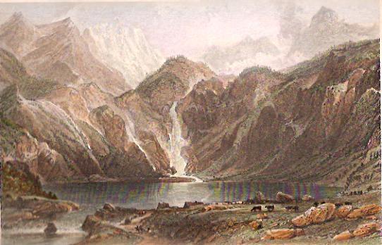 LAKE D'OO HIGH PYRENNEES