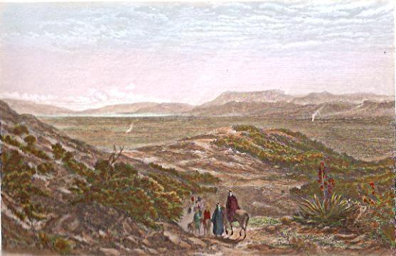 THE WATERS OF MEROM (BAR-EL-HULEH), Holyland, Israël, Palestinia