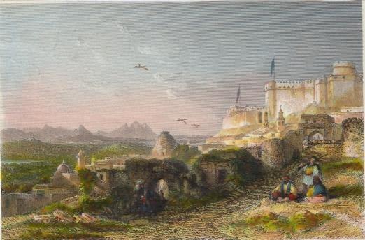 TUNISIE : EL KAF, THE ANCIENT SICCA VENERIA. Gravure, stich