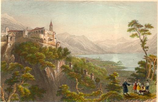 THE CONVENT OF LA MADONNA DEL SASSO-ABOVE LOCARNO, Switzerland,