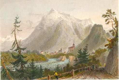 SIMMENTHAL, Switzerland, engraving, plates
