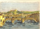 VÉRONE, Italy, old print, engraving, plates