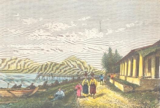 MOLUQUES : TERNATE, Indonésia, Halmahera, old print, engraving,