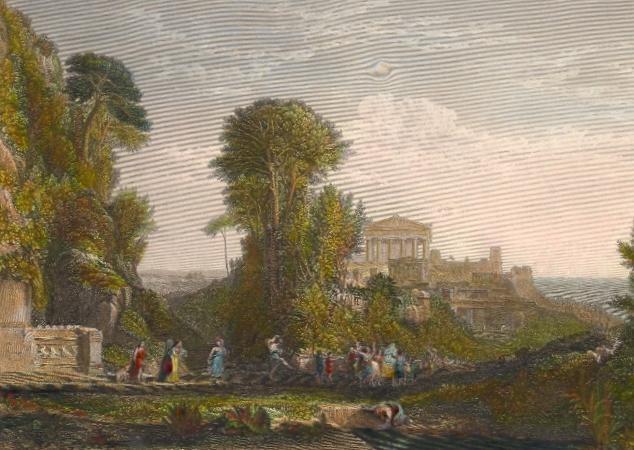 TEMPLE OF JUPITER PANHELLENIUS, Greece, Griechenland, grecia, Tu