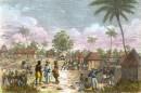 CÔTE DE MALAGUITTE, LES KRONMANS, Afrique, gravure ancienne, sti
