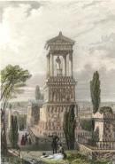 CIMETIÈRE DU PÈRE LACHAISE, France, Paris, gravures anciennes, s