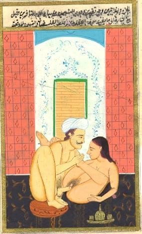 n°3, ottoman miniature, old print erotica, engraving, plates