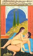 n°4, ottoman miniature, erotica engraving, plates, old print
