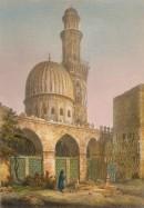 MOSQUÉE DEL-CAOULY AU KAIRE, Egypt, engraving, plates, old print
