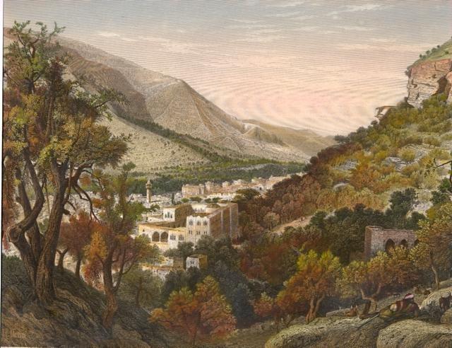 VALLÉE DE SICHEM, Holyland, middle east, palestinia, palestina,