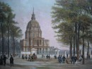 LES INVALIDES, France, paris, gravures anciennes, lithographies,