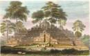 JAVA : BORRO BOEDOOR, Indonésia, Java, old print, engraving, pla