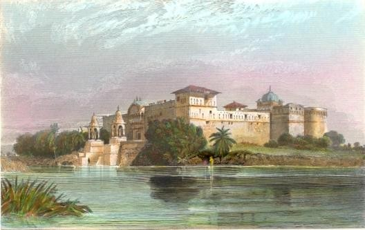 PERAWA-MALWA, India, Indien, old print, engraving, plates Malwa,