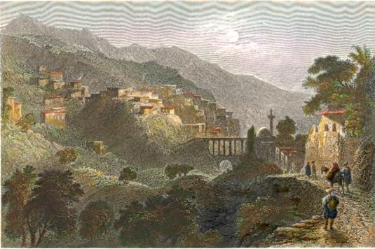 THE PASS OF BEILAN, MOUNT AMANUS, on the approach from Antioch,