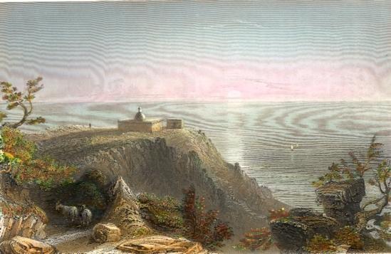 MOUNT CARMEL, LOOKIN TOWARDS THE SEA, Israel, Palestine, Palesti