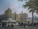 CHATEAU DE ST GERMAIN EN LAYE, France, paris, lithography, engra