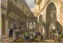 ALGÉRIE : BOUTIQUE À ALGER, Afrique du Nord, algérie, gravures a