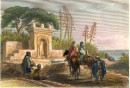 ALGÉRIA : FONTAINE PRÈS D'ALGER, North africa, algéria, old prin