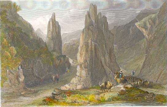 PASS IN THE BALKAN MOUNTAINS BY HAIDHOS, Turkey, turkei, roumani