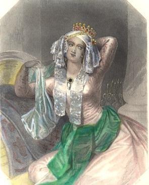 CLEOPATRE, woman, engraving, plates, print