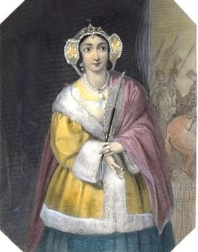 LADY PERCY, shakspeare, woman, engraving, print, plate, picture