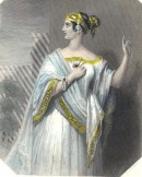 PORCIA, Shakspeare, picture, engraving, plates, print